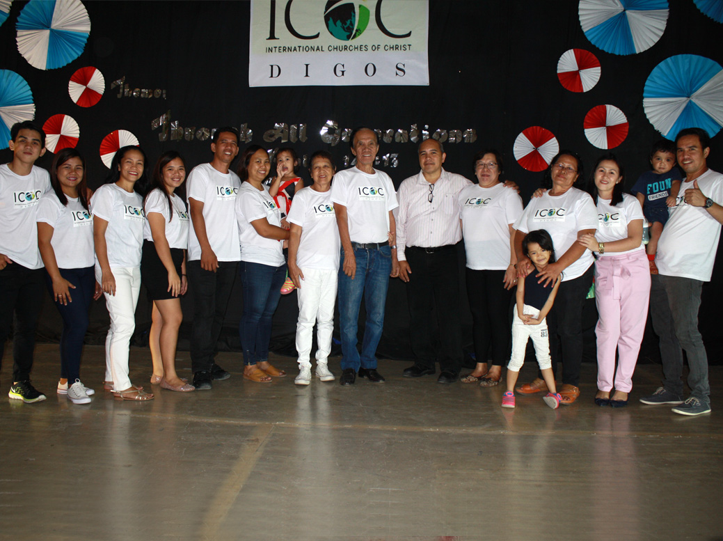 ICOC Digos Holds Inaugural Service